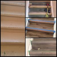 Stair Laminate Flooring Renovation