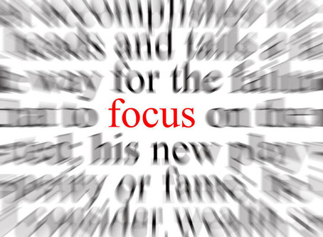Focusing On What Is Important Can Be Difficult