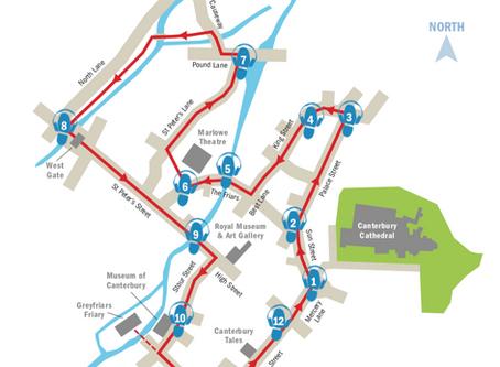 Canterbury, Part 2 - The Pilgrim's Trail
