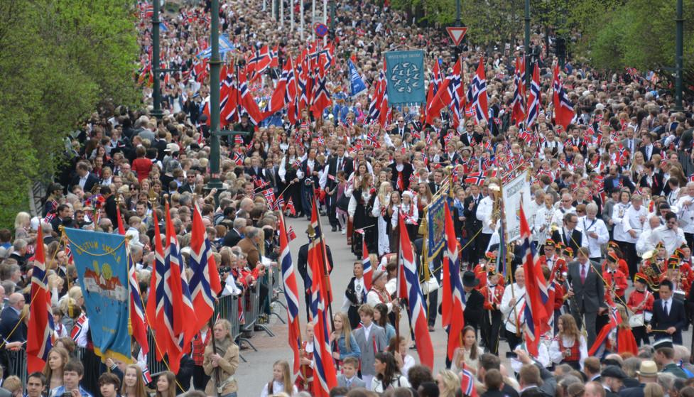Norway's May 5th Parade, 2012