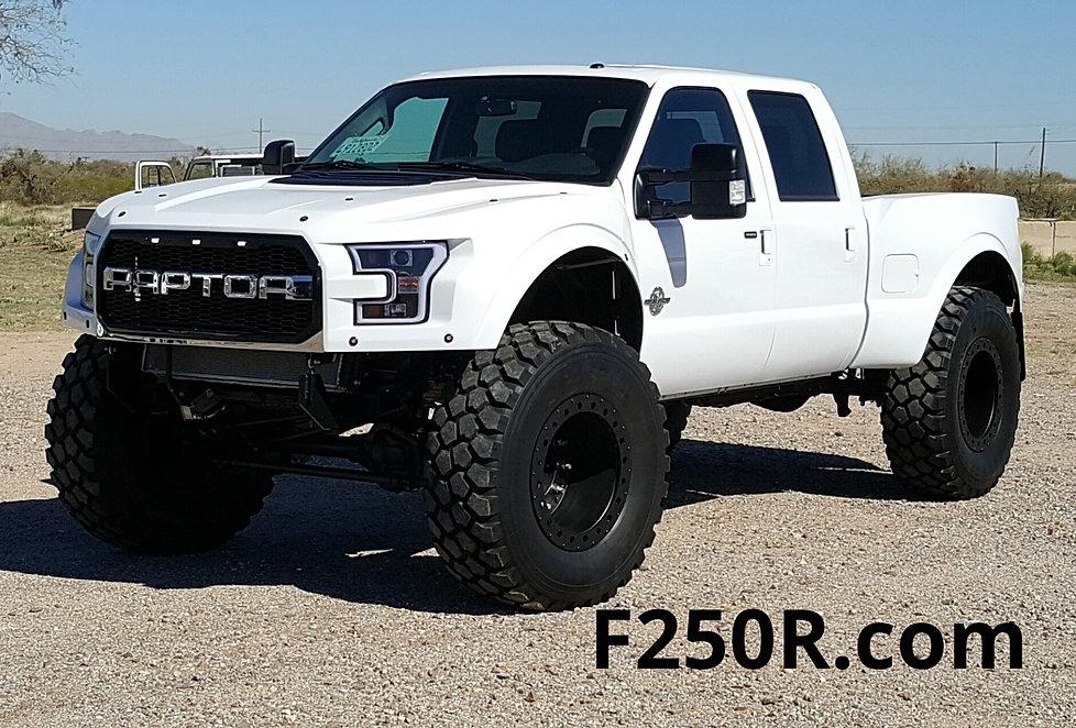 """Ford Raptor For Sale >> F250R.com We build """"MegaRaptor & SuperRaptor Trucks"""""""