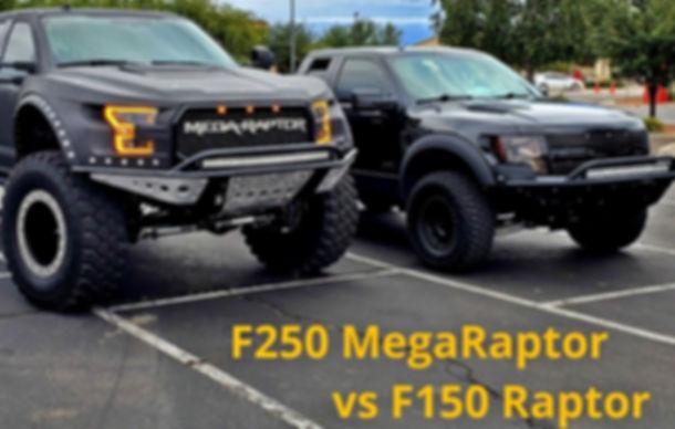 MegaRaptor diesel custom superduty