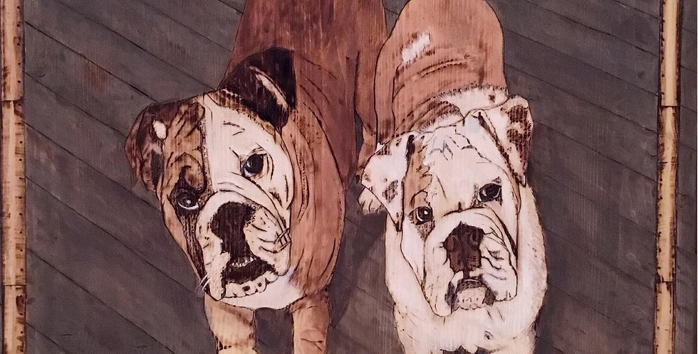 Custom Large Pet Portrait: $400 & Up
