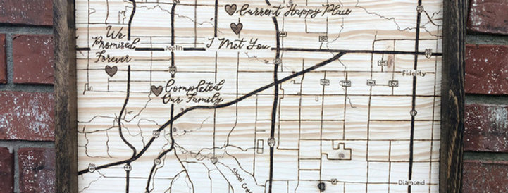 Valentine's Maps: $100 & Up