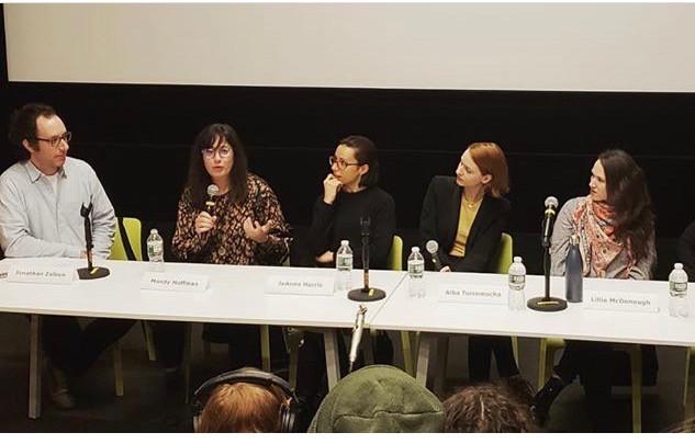 Panel at Feirstein Graduate School of Cinema