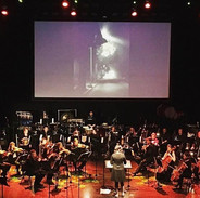 Conducting the Hollywood Chamber Orchestra