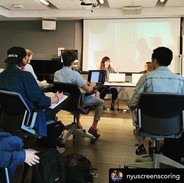 Guest Teaching at NYU Steinhardt's Screen Scoring Graduate Program