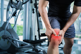 Healthy men Injury from exercise in the