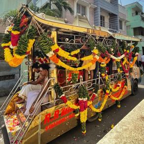 funeral procession on the street - kiranmayi