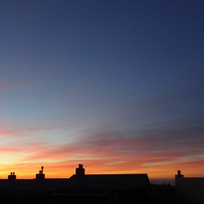 sunset - om upadhyay
