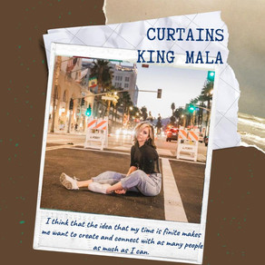 curtains: in conversation with king mala