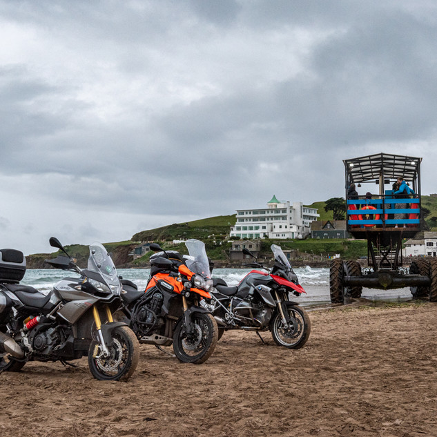 Burgh Island, permission granted -