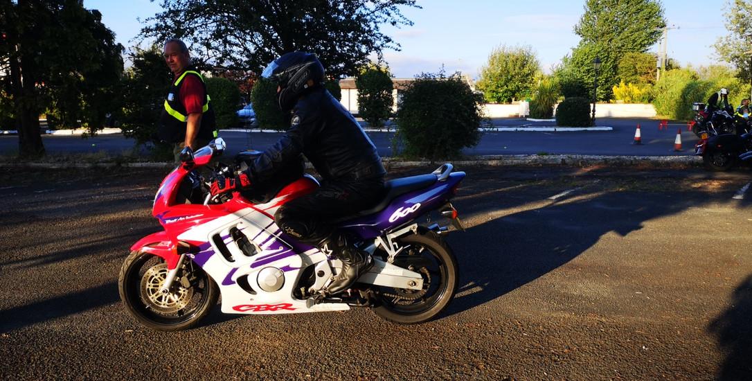 DAM Slow riding training evening - Ian S
