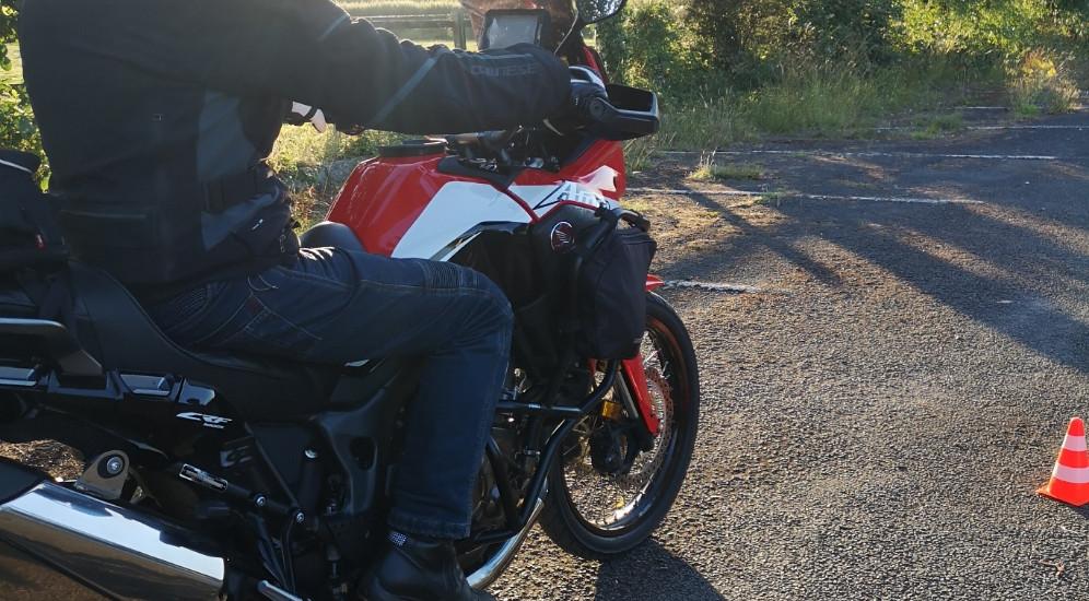 DAM Slow riding training evening - Ian P