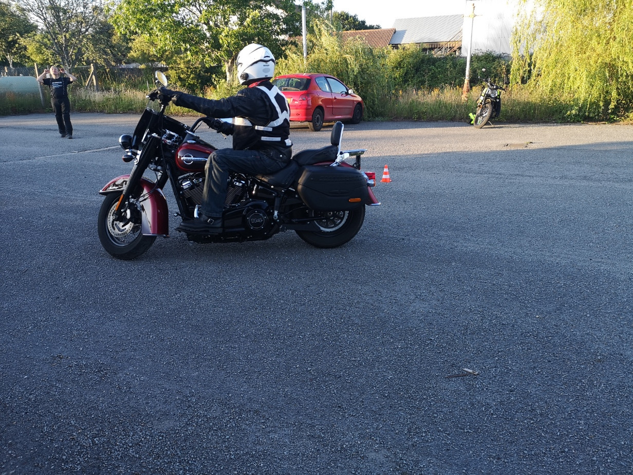 DAM Slow riding training evening - slow
