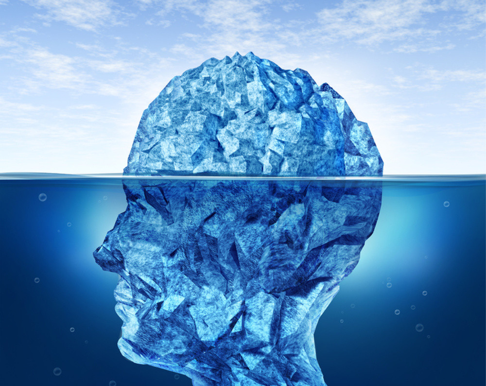 depth psychology, iceberg mind