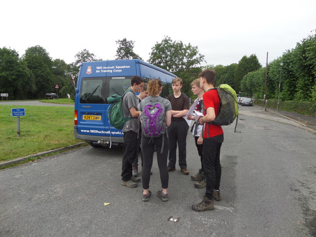 Duke of Edinburgh Silver Practice Walk