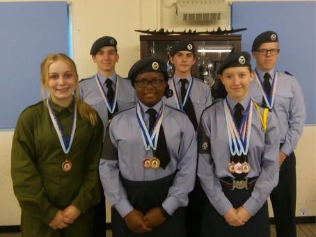 1803 Sqn wins 9 Medals at the TW Athletics 2019