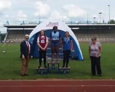 Region Athletics - Another GOLD for Cadet Odubore.