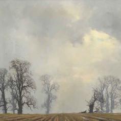 Landscape with Oaks