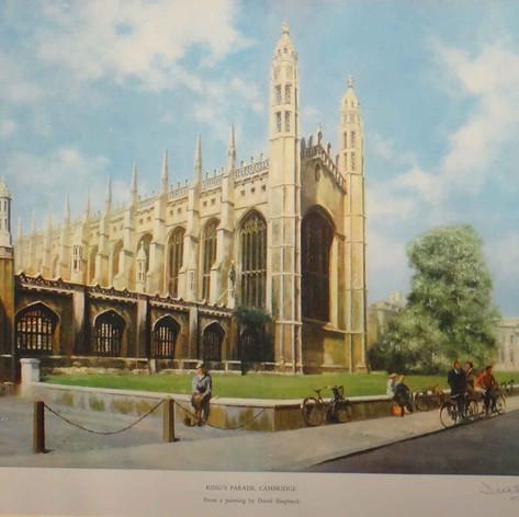 Cambridge, King's Parade