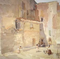 Sunlit Square, Languedoc