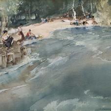 Washerwomen on the Cere at Bretenoux