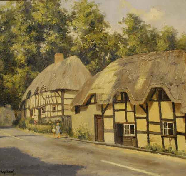 Thatched Cottages, Wherewell