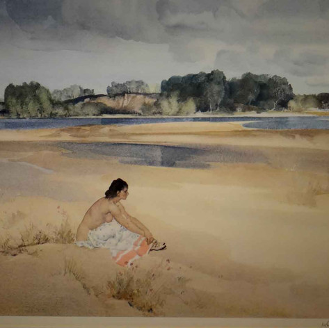 Anne-Marie by the Loire