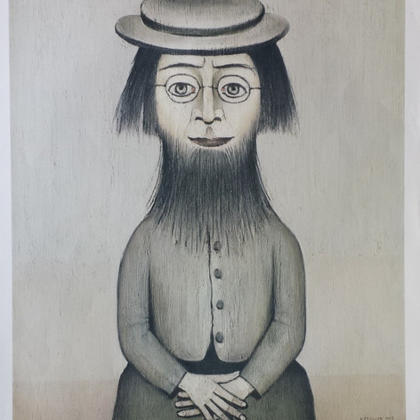 Woman with beard