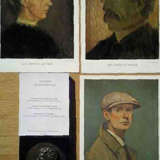 FAQ Portraits of Lowry and his Parents