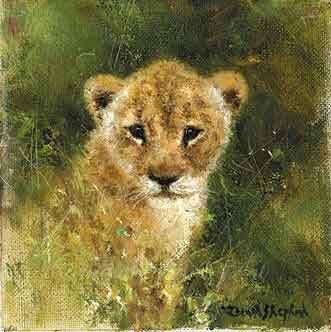 Lion cub cameo