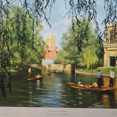 Cambridge, The Backs