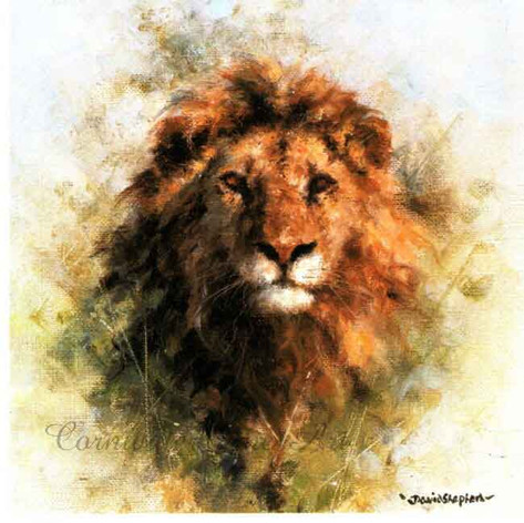Lion cameo