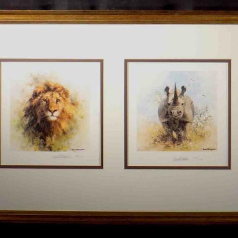 Lion and Rhion Cameos