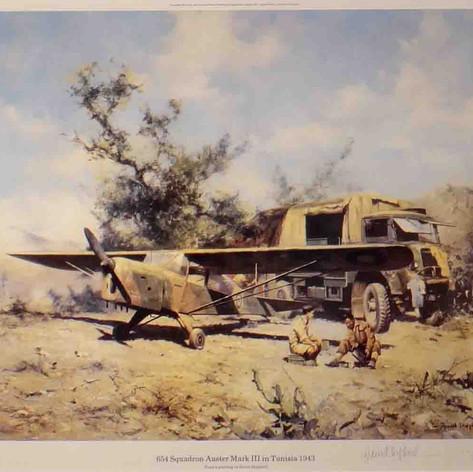 654 squadron Auster, Tunisia