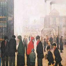 Salford Street Scene 1928