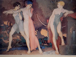Artemis and Chione