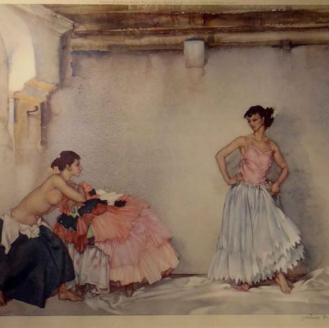 Casilda's White Petticoat