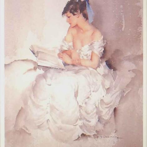 Cecilia reading more than shadows