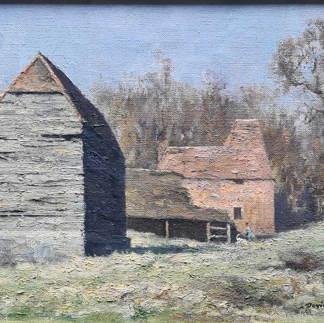 Landscape with Farm buildings
