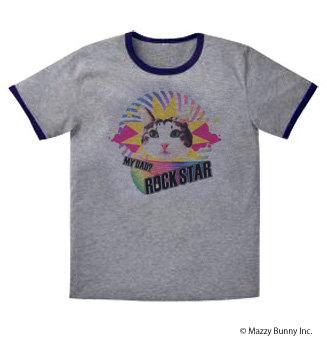 KK-102 KiKi T-shirt 【Rock 'n' DaD】Gray