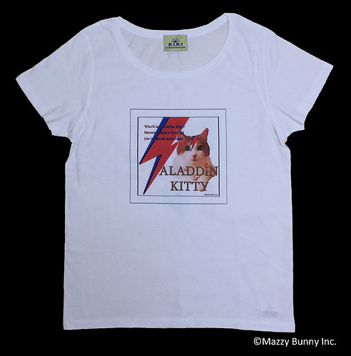 KK-104 KiKi T-shirt【Aladdin Kitty】Lady's