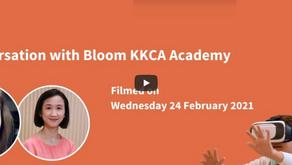 HeadTalk with Bloom KKCA Academy