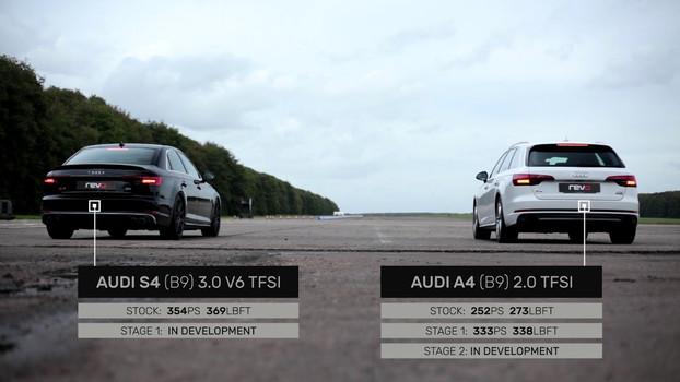 S4 stock VS A4 Revo