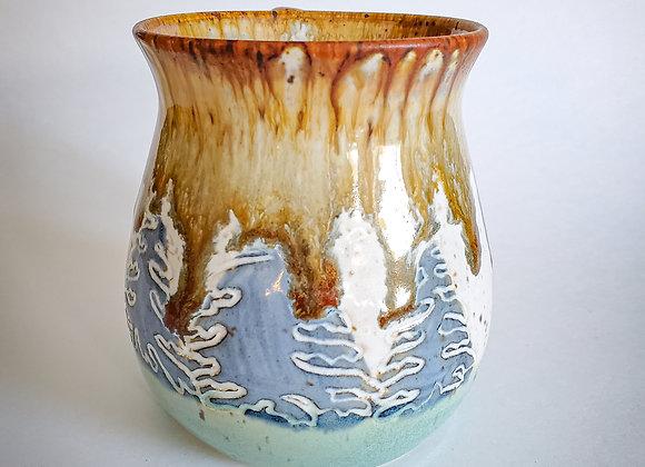Drippy tree mug