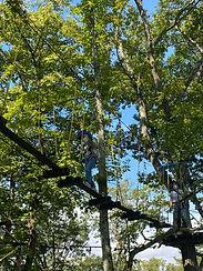 アミーチアドベンチャー軽井沢 樹上のアスレチック ツリートレッキング 初級