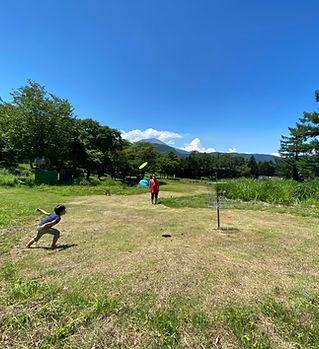 ディスクゴルフ アミーチアドベンチャー軽井沢