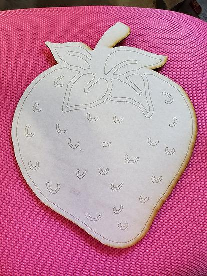 DIY Paintable Strawberry