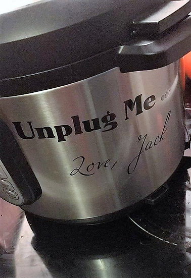 This is Us spoof crock pot decal